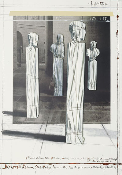 Christo and Jeanne-Claude, 'Wrapped Roman Sculptures', 1991