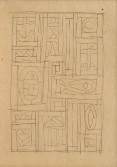 Joaquín Torres-García, 'Constructivo con Pez', 1932
