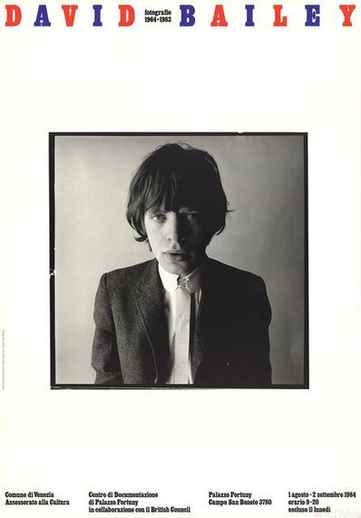 David Bailey, 'Mick Jagger', 1984