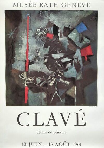 Antoni Clavé, 'Musée Rath Genève. CLAVÉ: 25 ans de peinture. 10 juin - 13 août 1961', 1961