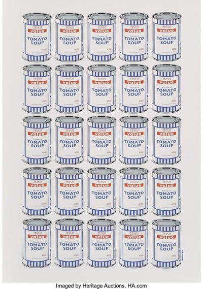 After Banksy, 'Tesco Value Cream of Tomato Soup, poster', 2006