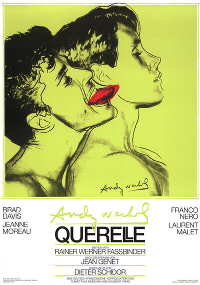 Andy Warhol, 'Querelle Green', 1983