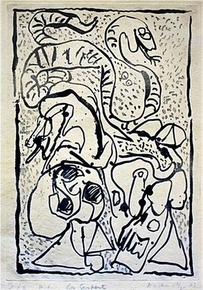 Pierre Alechinsky, 'Ca Serpente', 1963