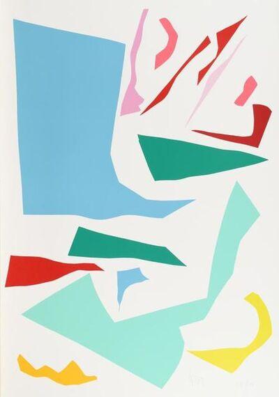 Imi Knoebel, 'Messerschnitt', 1990-2000