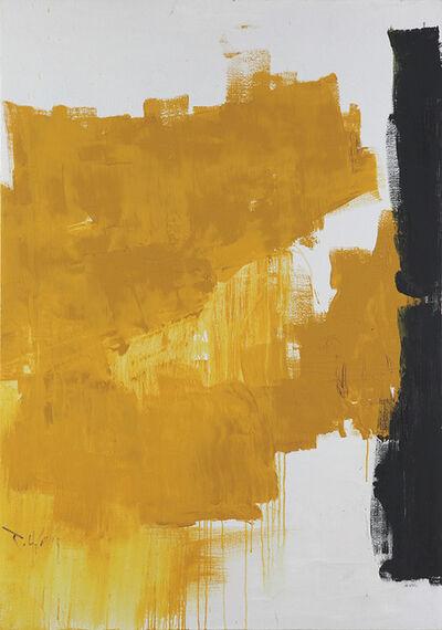 Huang Rui, 'Yellow Abstraction', 1995