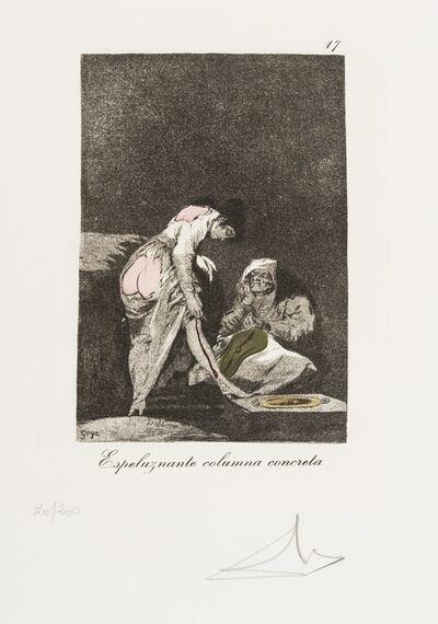 Salvador Dalí, 'Plate 17 (From Les Caprices de Goya de Dali) (M & L 864; Field 77-3-64)', 1977