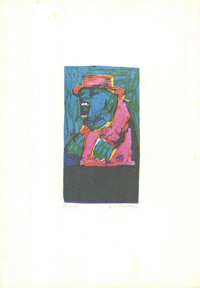 Mino Maccari, 'L'ultimo grido', 1975