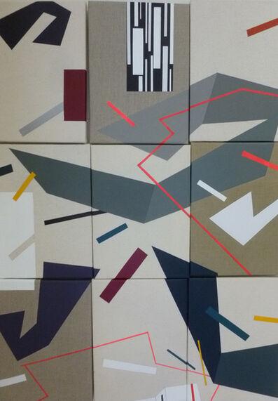 Ruth Quirce, 'Componiendo una entropía IV', 2013