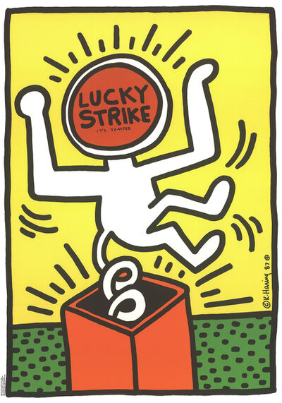 Keith Haring, 'Lucky Strike', 1984