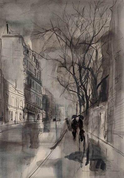 Bernard Lamotte, 'Reflections on a Rainy Day, Paris', 20th Century