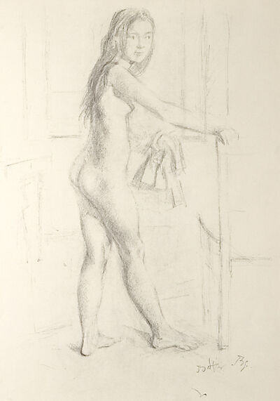 Balthus, 'Europa-Donna', 1994