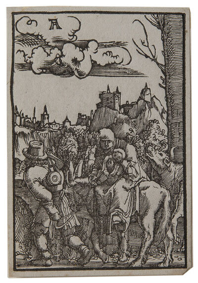 Albrecht Altdorfer, 'The Flight into Egypt.', 1515