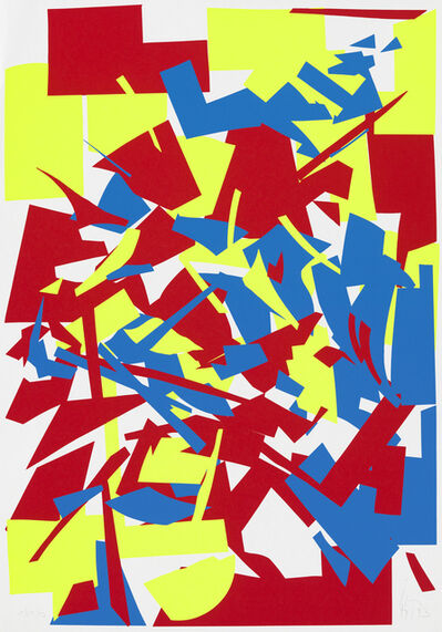 Imi Knoebel, 'Red Yellow Blue', 1994