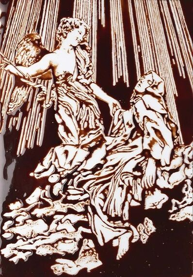 Vik Muniz, 'Pictures of Chocolate: Ecstasy of Saint Teresa, after Bernini', 2015