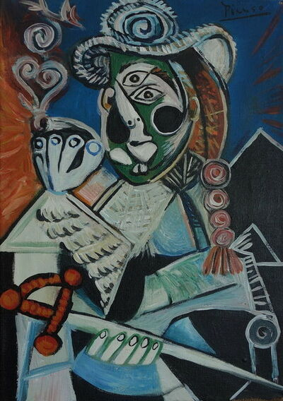 Pablo Picasso, 'Portrait of a man – Musketeer -', 1969