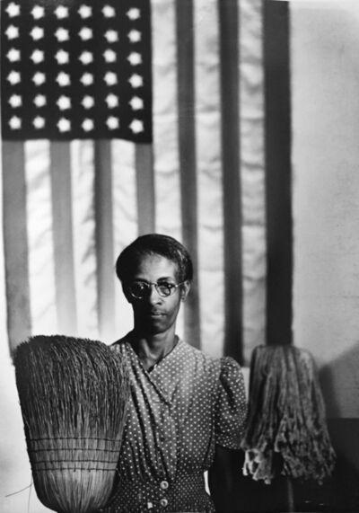 Gordon Parks, 'American Gothic, Ella Watson, Washington DC', 1942