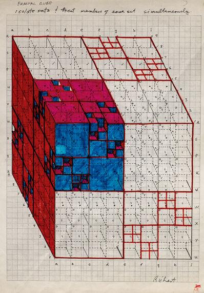 Clark Richert, 'Pascal Cube 2', 1992-94