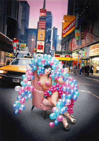 David LaChapelle, 'Porn Star in Times Square, New York', 1993