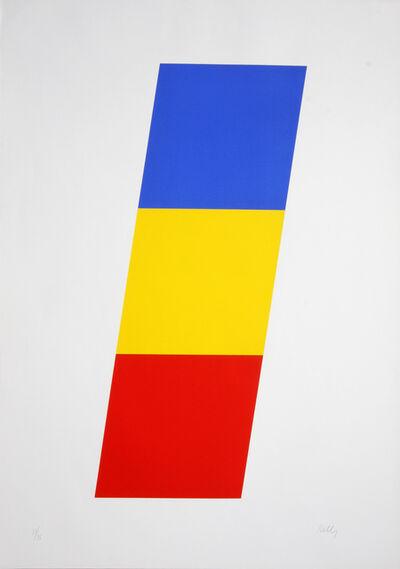 Ellsworth Kelly, 'Blue Yellow Red ', 1970