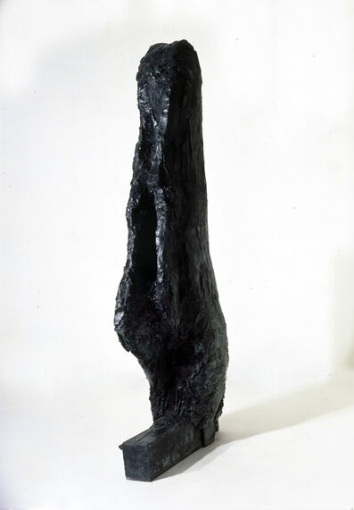 "Per Kirkeby, '""Der große Kopf mit Arm""', 1983"