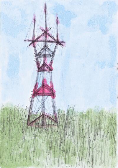 Lance Rivers, 'Sutro Tower Landscape', 2012