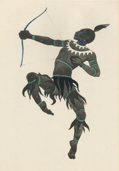 """Walter Schnackenberg, '""""The Bird Catcher"""", Ballet und Pantomime (plate 19)', 1920"""
