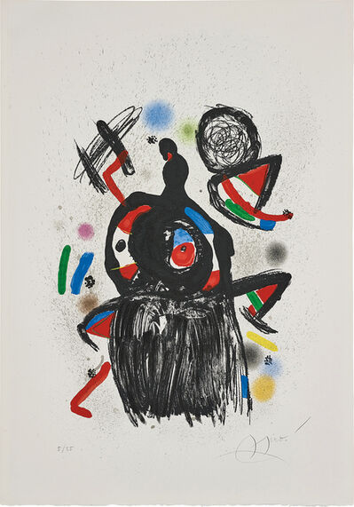 Joan Miró, 'La Jeteuse de sorts (The Spellcaster)', 1981