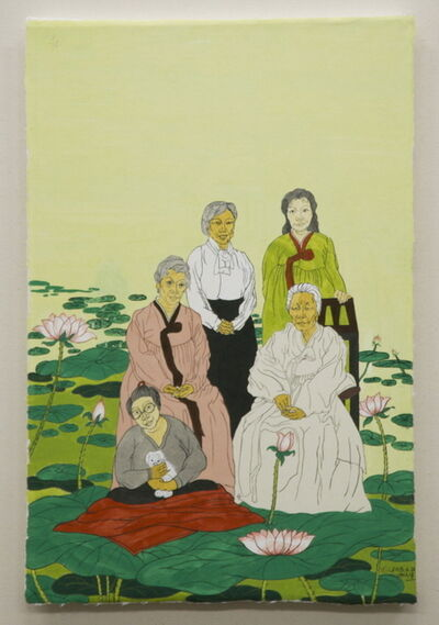 Suknam Yun, 'We are a matrilineal family ', 2018