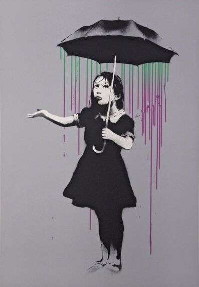 Banksy, 'Nola, Green Purple', 2008