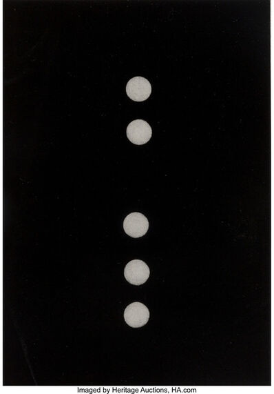 Donald Sultan, 'Untitled, from Dominos', 1990