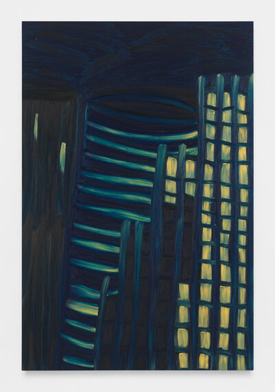 Martha Diamond, 'Moonlight / City View #2', 1981