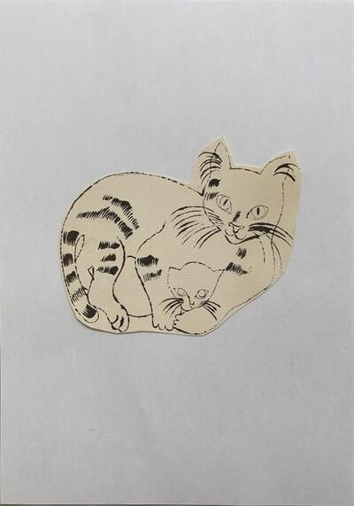 Andy Warhol, '25 Cats Name[d] Sam and One Blue Pussy IV.62', ca. 1954