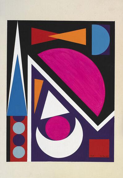 Auguste Herbin, 'Hache', 1953