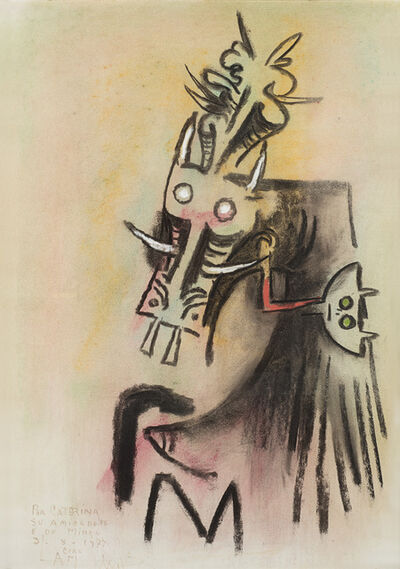 "Wifredo Lam, '""Untitled""', 1977"