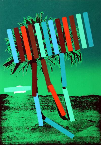 Menashe Kadishman, 'Green Palm', 1979