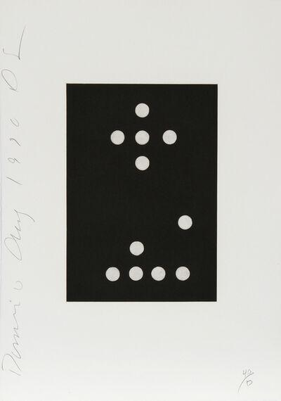 Donald Sultan, 'Dominoes Portfolio - 27', 1990