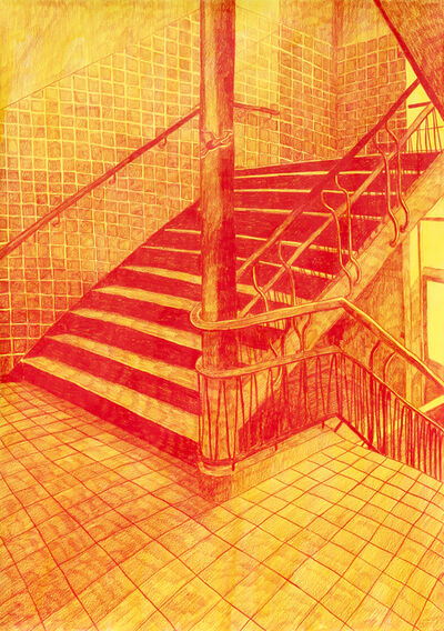 Morten Schelde, 'Ocean of Time X (The Staircase)', 2020
