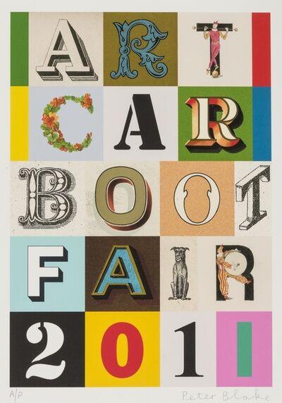 Peter Blake, 'Art Car Boot Fair 2011', 2011