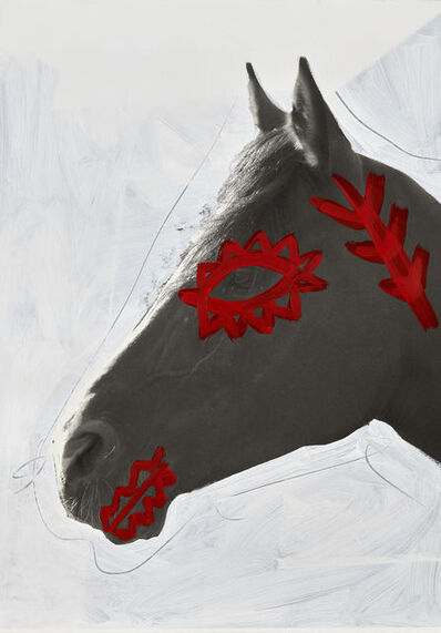 Giuseppe De Mattia, 'Decorations for War Horses #3, Bologna ', 2019