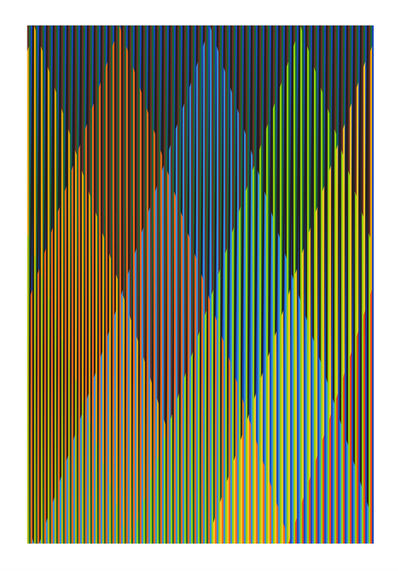 Carlos Cruz-Diez, 'Couleur Additive Perseus (P1)', 2017