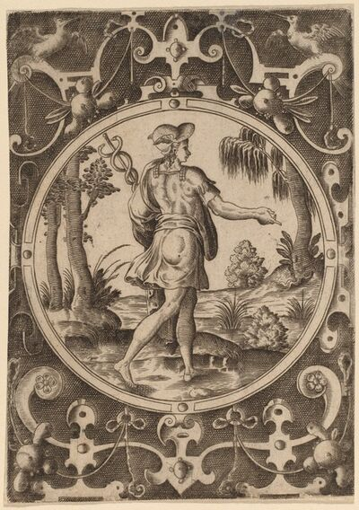 Abraham de Bruyn, 'Hermes'