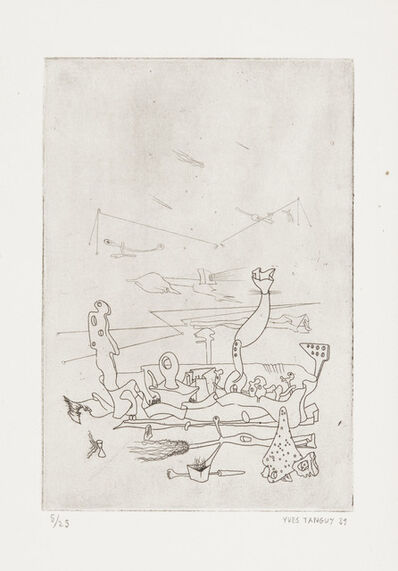 Yves Tanguy, 'Untitled, from Ma Tête à couper', 1939