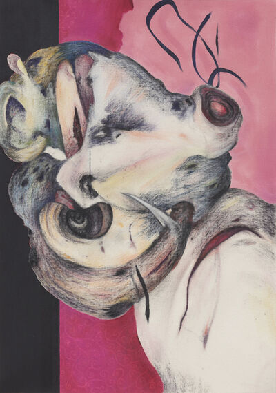 Ahmed Alsoudani, 'Head II', 2019
