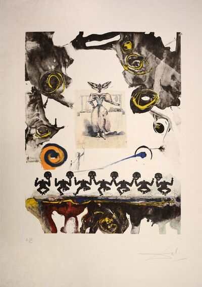 Salvador Dalí, 'Surrealist Gastronomy, from Memories of Surrealism. 1971', 1971