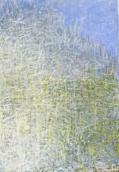 Wolf Kahn, 'DARK GREEN IN THE MIDDLE', 2013