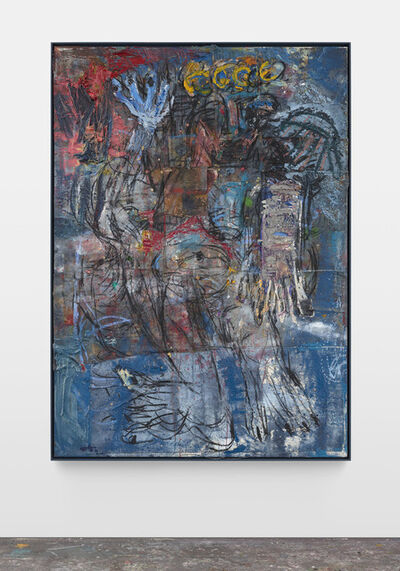 Daniel Crews-Chubb, 'Zeus(!) blue', 2019