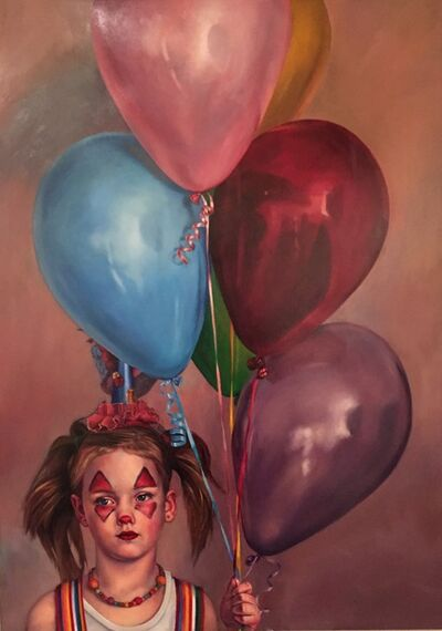 Jeff Dodd, 'Balloons with Nora', 2017