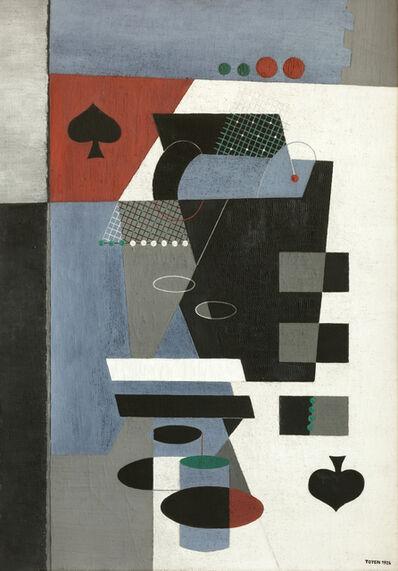 Toyen, 'La Dame de Pique', 1926