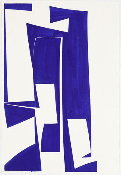 Joanne Freeman, 'Covers 24 x 18 Blue C', 2016