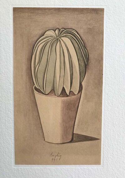 Giorgio Morandi, 'Vase with Plant', 1973